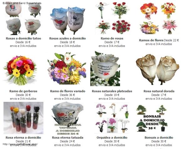Flores a domicilio para San Valentin, el dia de los enamorados