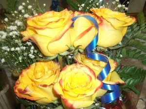 Rosas amarillas a domicilio en media docena (2)