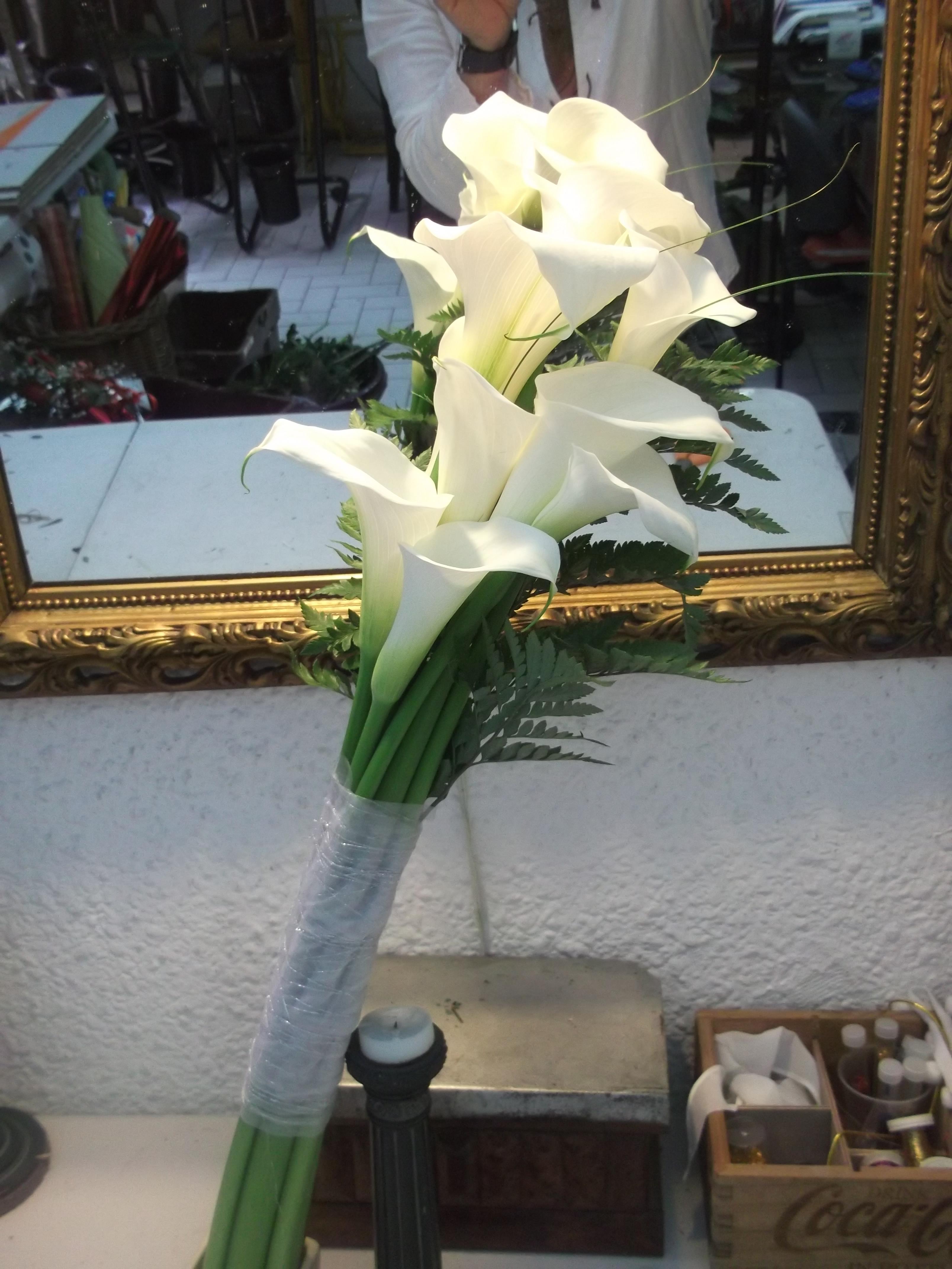 Flores de la boda calas