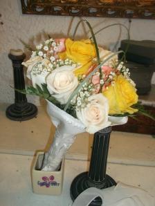 Ramo de novia de rosas en forma de bouquet (1)