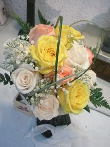Ramo de novia de rosas en forma de bouquet (3)