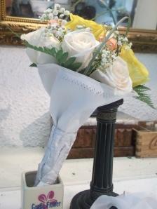 Ramo de novia de rosas en forma de bouquet (5)